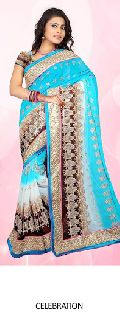 Color Shaded Silk Sarees
