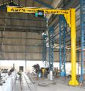 Pillar Mounted ( Free Standing ) Jib Crane