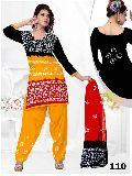 Batik Printed Salwar Suit