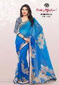 RekhaManiyar Fashions Chiffon Fancy Printed Saree 8520