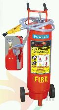 Dry Chemical Powder Trolley Fire Extinguisher