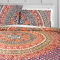 Indian Mandala Handmade Cotton Floral Duvet Cover