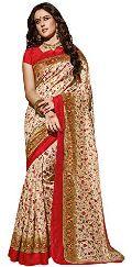 Katan Silk Printed Sarees