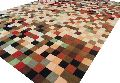 Handmade Woollen Multi Colors Carpet
