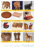 Hand Carved Wooden Handicraft Products