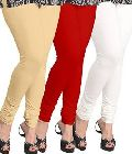 plain leggings cotton lycra