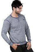Full Sleeve Solid Mens Sweatshirt