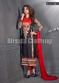 Black & Red Glaze Designer Suit