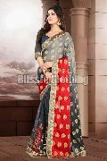 Embroidered Embellished Half Saree