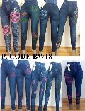 FANCY ANKLE LENGTH DENIM LEGGING