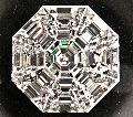 Octagonal Pie Cut Diamonds