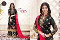 Fox Georgette Designer Heavy Embroidery Plazo Type Salwar Kameez