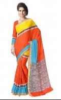 Kerala Cotton Designer Printed Saree