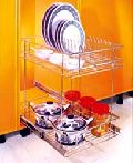 SS Elegant Pull Out Trolley