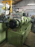 Extruder machine for welding electrode