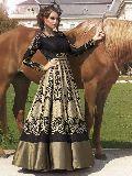 stitched designer bhagalpuri silk suits