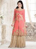 Semi Stitched Sharara Suits