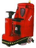 Compact Ride-On Auto Scrubber Drier