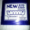 Absorbent Zig Zag Cotton