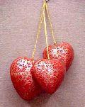 Item Code : MAS-CTHH-03 Christmas Tree Hangings Hearts