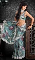 Sequins Saree