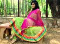 Sea-green Net Anarkali Suits