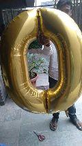 alphabet letter foil balloon