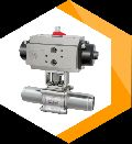 Buttweld Ball Valve with Actuator