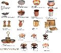Indian Copper Tableware