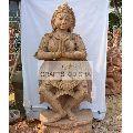 Sandstone Dancing Lady sanding statue