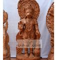 Sandstone Hanuman standing statue