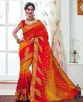 Ladies Tussar Silk Saree