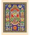 Ashta Lakshmi Art Print On Paper
