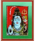 Lord Shiva Framed Art Prints Glass