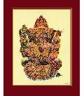 Solitaire Vinayak Art Print On Paper