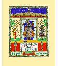 Srinathji The Dark-Hued Divine Art Prints On Silk