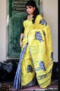 Khadi Saree With Blouse