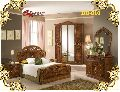 DB-010 Wooden Double Bed