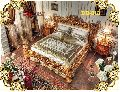 DB-013 Wooden Double Bed