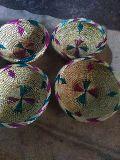 Handmade Golden Grass Basket