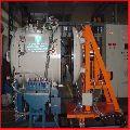 Vacuum rotary brazing furnace
