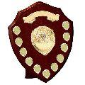 Wooden Certificate Shield