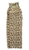 Chocolate Carters Baby Hooded Mink lion Blanket
