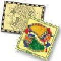 SYMBOLIC SAND ART-MADHUBANI