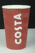 Disposable Costa Coffee Paper Cups