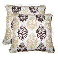 Lushomes Earth Printed Cotton Cushion Covers