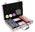200 Pcs Diced Poker Chip Set Without Denomination