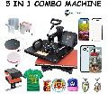 5 In1 Combo Heat Press Sublimation Printing Machine