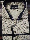 Mens Printed Cotton Formal Shirts