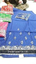 Chanderi Unstitched Suit